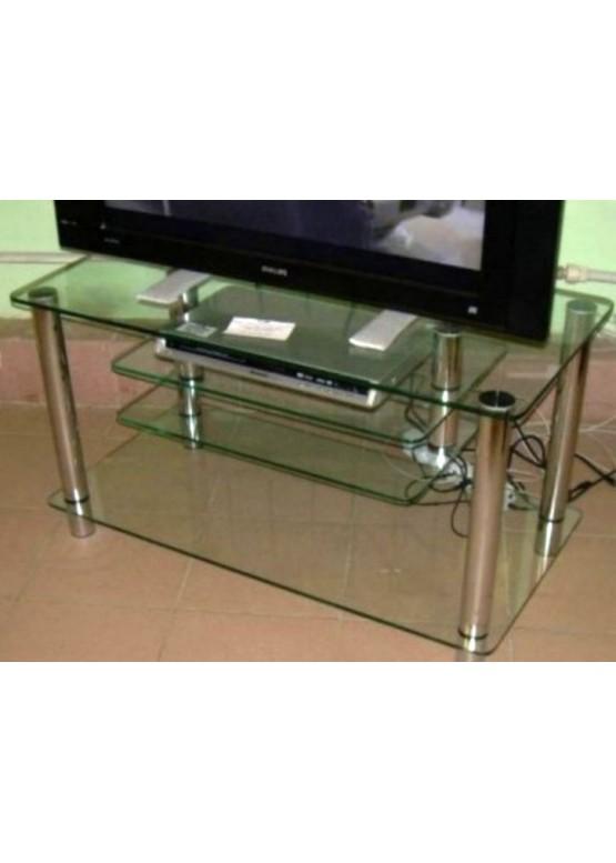 Купить Стеклянная подставка под ТВ и аппаратуру - Авторские работы (Артикул 1710)