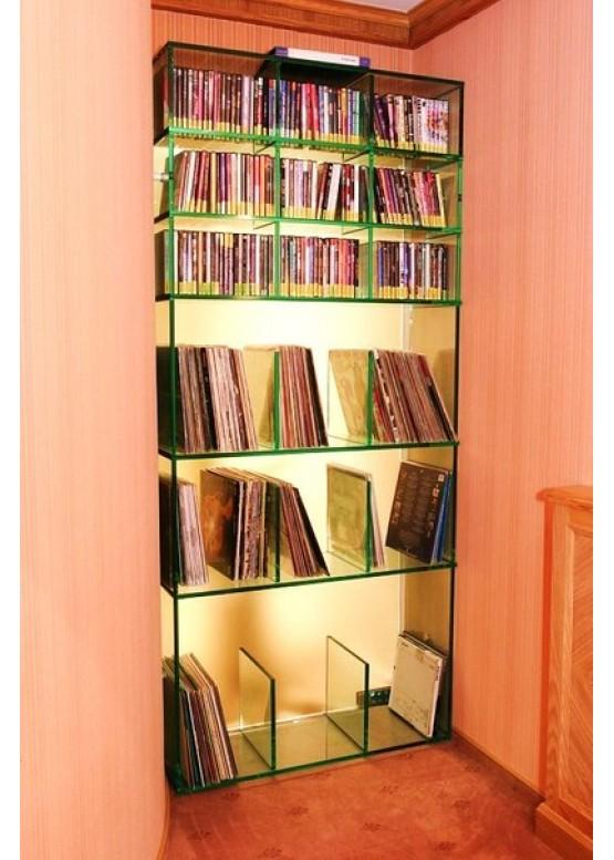 Купить Стеклянные шкафы и стеллажи - Авторские работы (Артикул 1969)