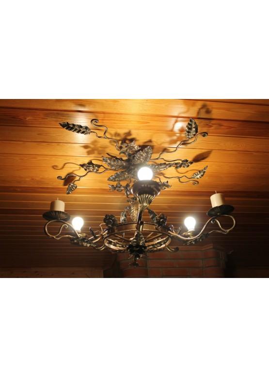 Купить Кованые люстры и светильники - Авторские работы (Артикул 965)