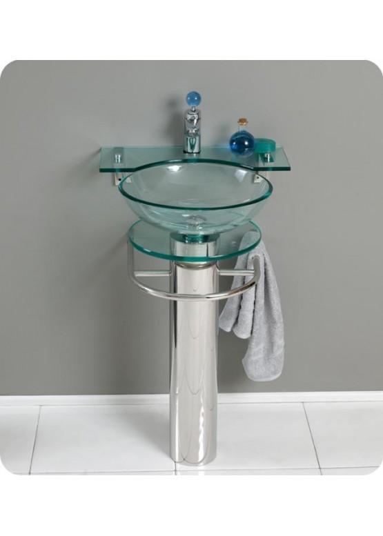 Купить Умывальники из стекла, стеклянные раковины - Авторские работы (Артикул 2636)