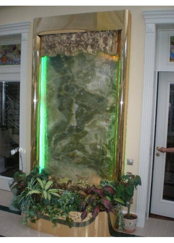 Водопад по стеклу сделать своими руками 1