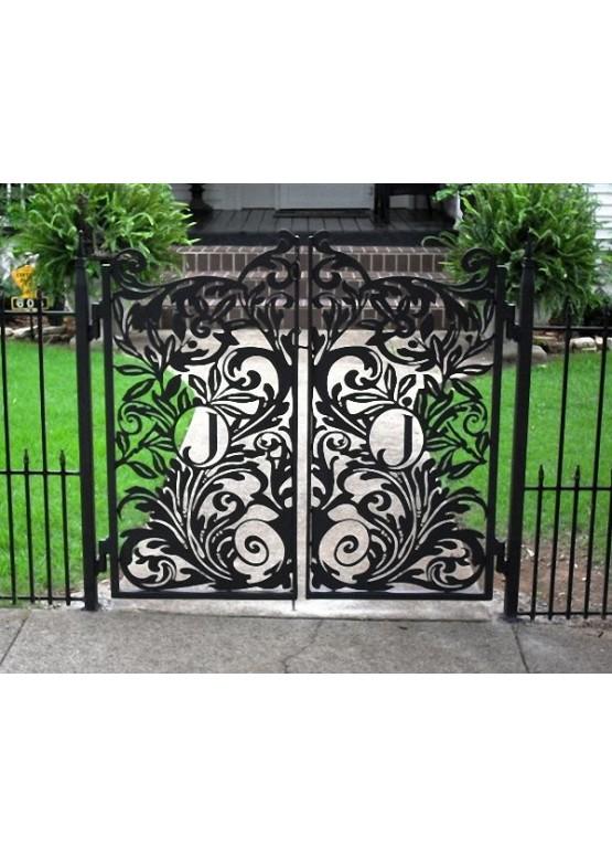 Купить Ворота , ограды , калитки и таблички - Авторские работы (Артикул 422)