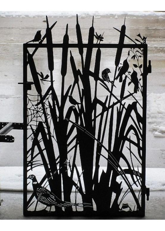 Купить Ворота , ограды , калитки и таблички - Авторские работы (Артикул 523)