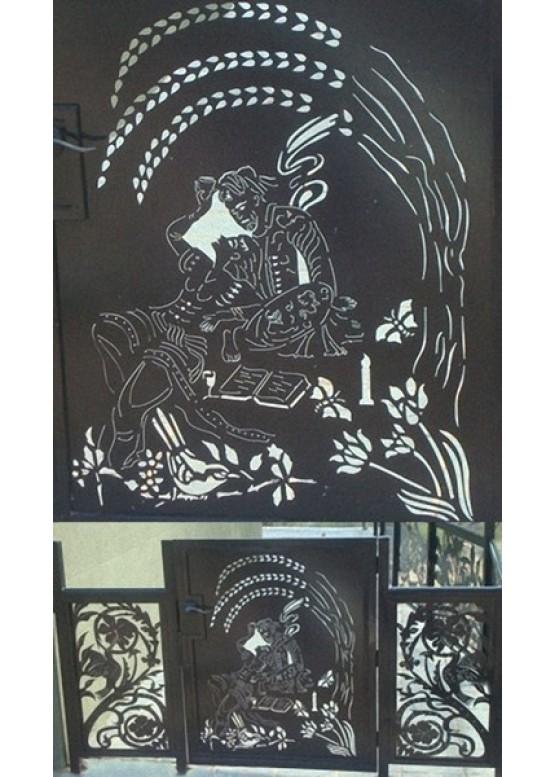Купить Ворота , ограды , калитки и таблички - Авторские работы (Артикул 528)