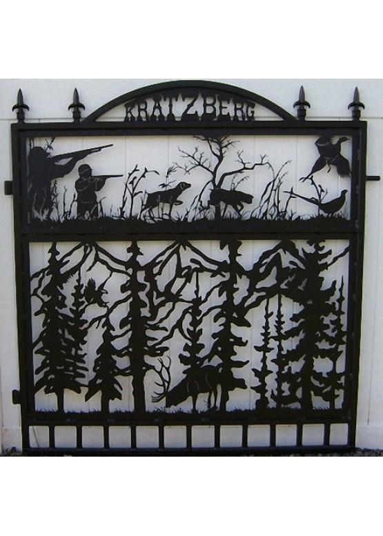Купить Ворота , ограды , калитки и таблички - Авторские работы (Артикул 529)