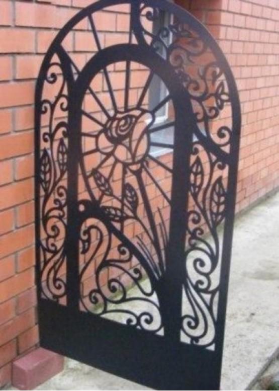 Купить Ворота , ограды , калитки и таблички - Авторские работы (Артикул 531)