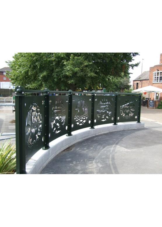 Купить Ворота , ограды , калитки и таблички - Авторские работы (Артикул 542)