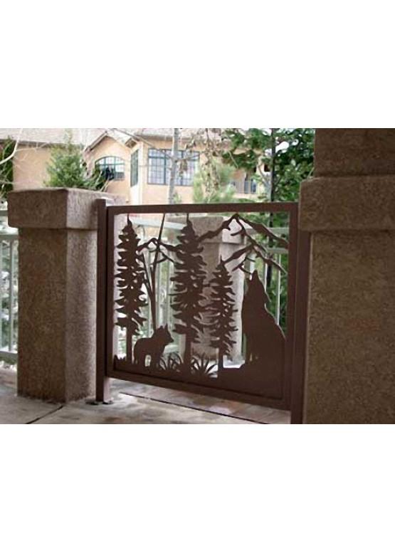 Купить Ворота , ограды , калитки и таблички - Авторские работы (Артикул 543)
