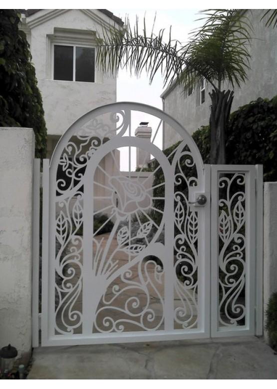 Купить Ворота , ограды , калитки и таблички - Авторские работы (Артикул 551)