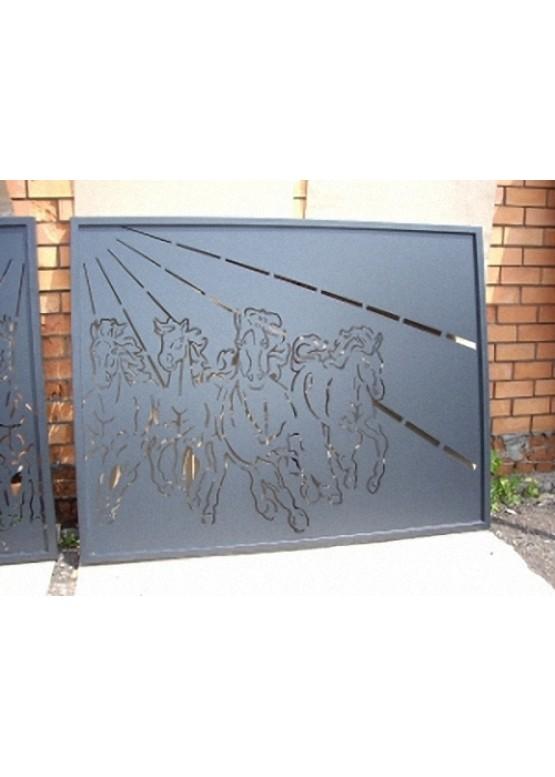 Купить Ворота , ограды , калитки и таблички - Авторские работы (Артикул 552)