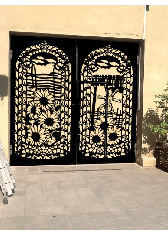 Купить Ворота , ограды , калитки и таблички - Авторские работы (Артикул 553)
