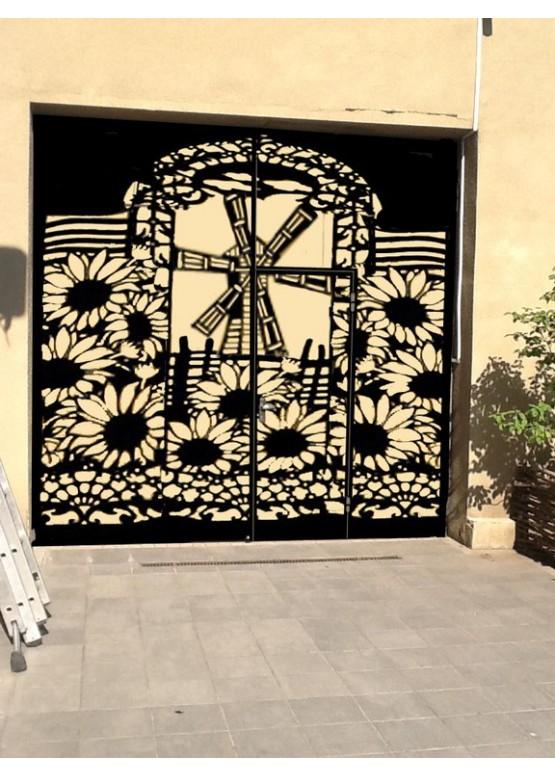 Купить Ворота , ограды , калитки и таблички - Авторские работы (Артикул 555)