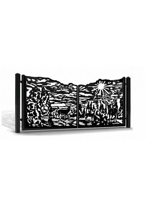 Купить Ворота , ограды , калитки и таблички - Авторские работы (Артикул 560)