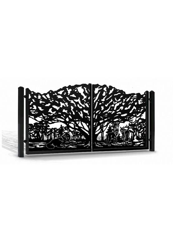 Купить Ворота , ограды , калитки и таблички - Авторские работы (Артикул 562)