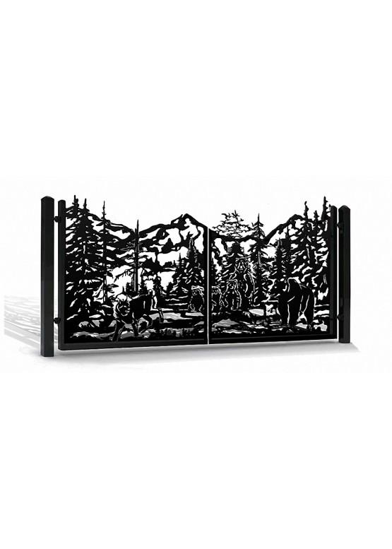 Купить Ворота , ограды , калитки и таблички - Авторские работы (Артикул 563)