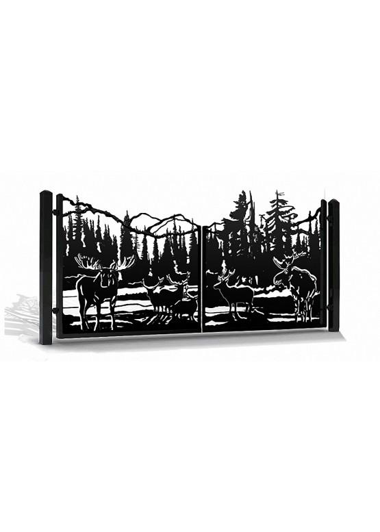 Купить Ворота , ограды , калитки и таблички - Авторские работы (Артикул 564)