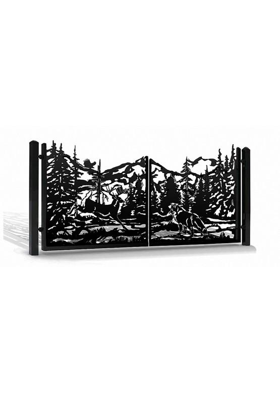 Купить Ворота , ограды , калитки и таблички - Авторские работы (Артикул 566)
