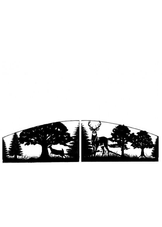 Купить Ворота , ограды , калитки и таблички - Авторские работы (Артикул 569)