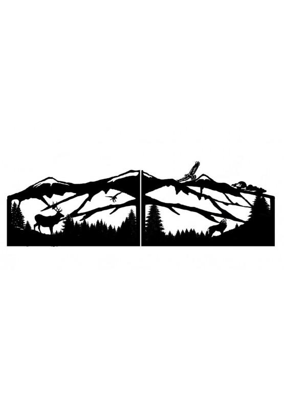 Купить Ворота , ограды , калитки и таблички - Авторские работы (Артикул 571)