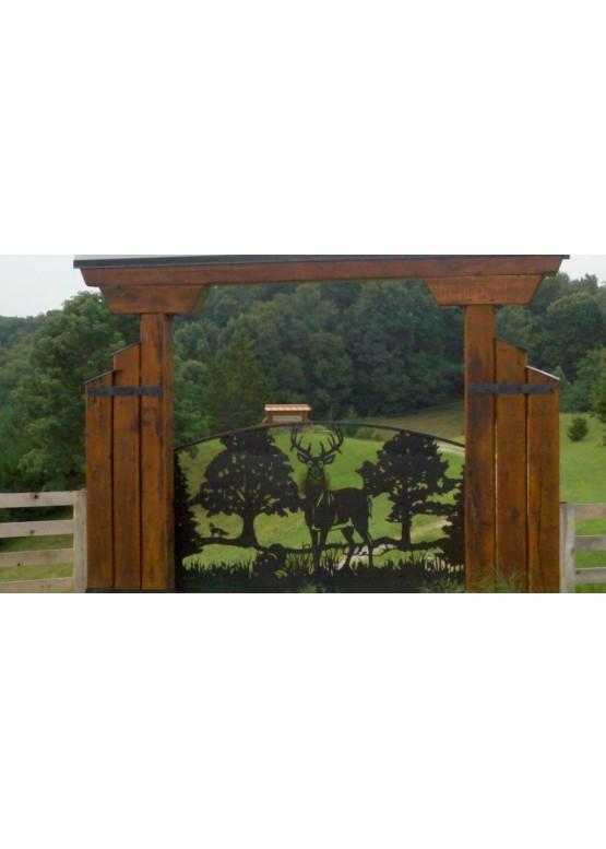 Купить Ворота , ограды , калитки и таблички - Авторские работы (Артикул 437)