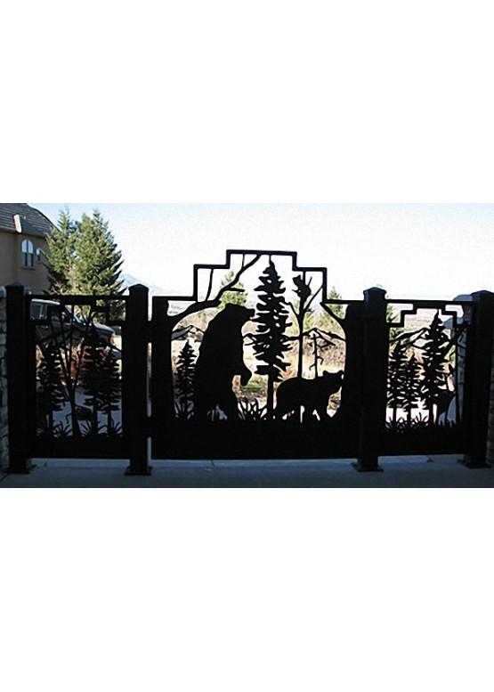 Купить Ворота , ограды , калитки и таблички - Авторские работы (Артикул 439)