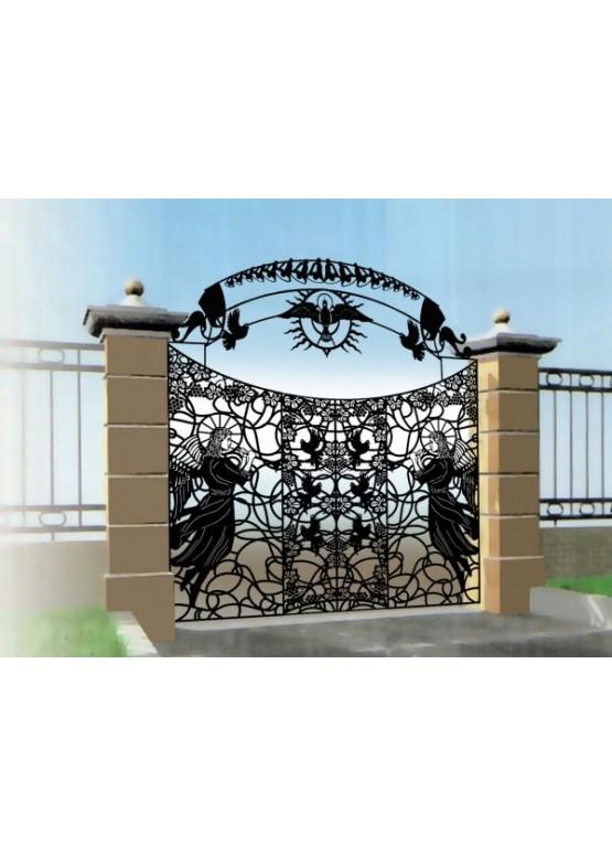 Купить Ворота , ограды , калитки и таблички - Авторские работы (Артикул 440)