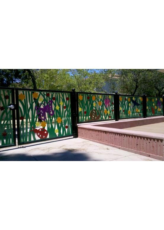 Купить Ворота , ограды , калитки и таблички - Авторские работы (Артикул 450)