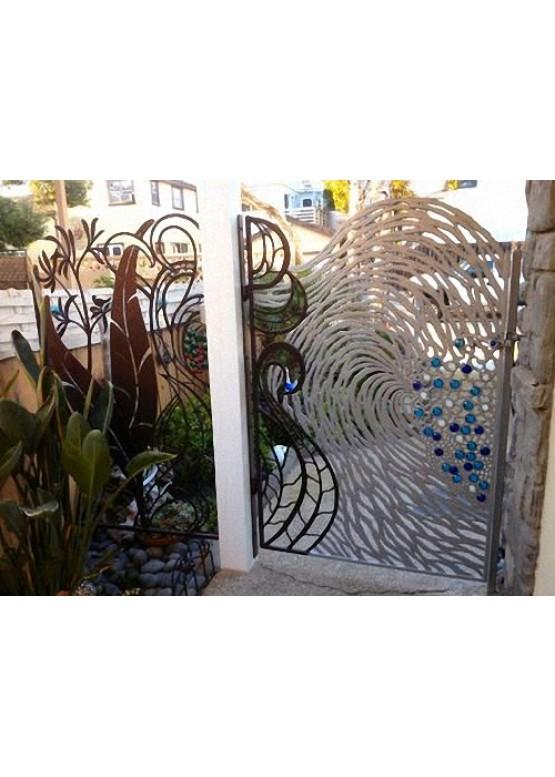 Купить Ворота , ограды , калитки и таблички - Авторские работы (Артикул 452)