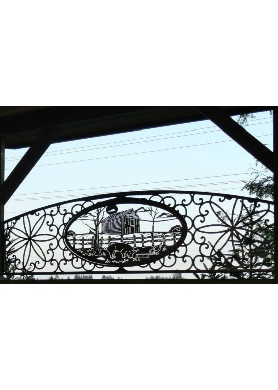 Купить Ворота , ограды , калитки и таблички - Авторские работы (Артикул 454)