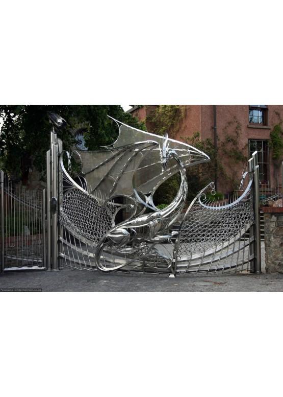 Купить Ворота , ограды , калитки и таблички - Авторские работы (Артикул 456)