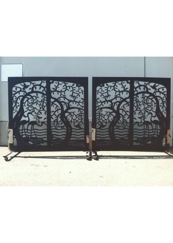 Купить Ворота , ограды , калитки и таблички - Авторские работы (Артикул 460)