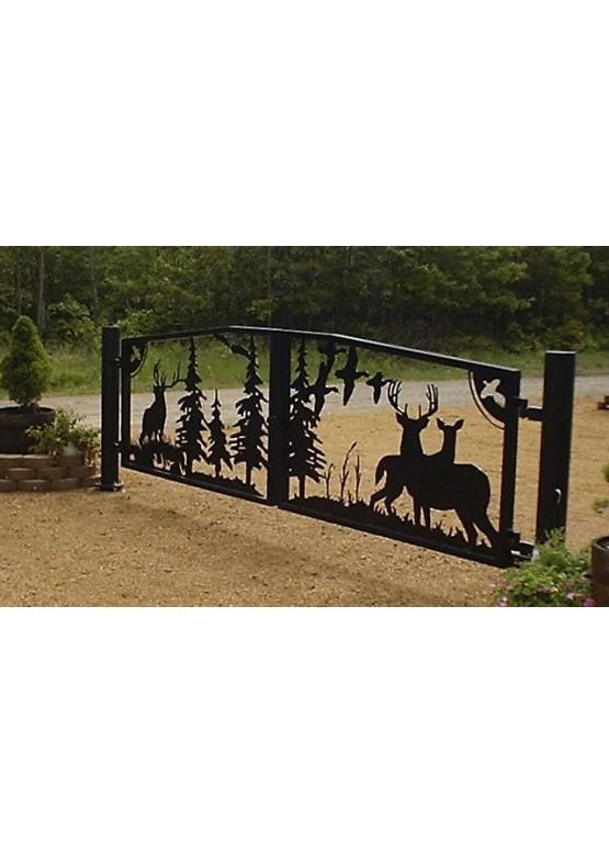 Купить Ворота , ограды , калитки и таблички - Авторские работы (Артикул 425)