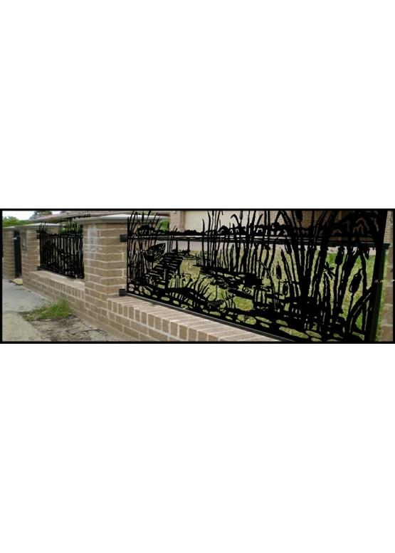 Купить Ворота , ограды , калитки и таблички - Авторские работы (Артикул 464)