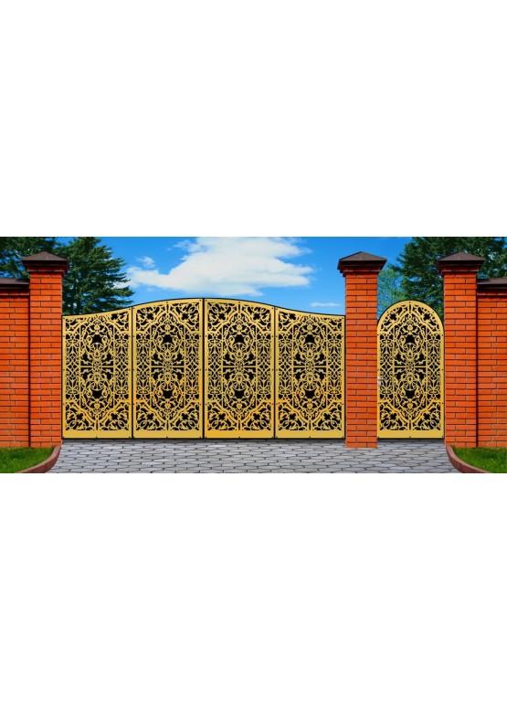 Купить Ворота , ограды , калитки и таблички - Авторские работы (Артикул 477)