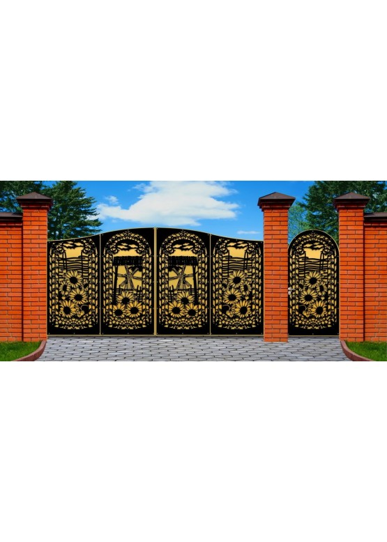 Купить Ворота , ограды , калитки и таблички - Авторские работы (Артикул 478)