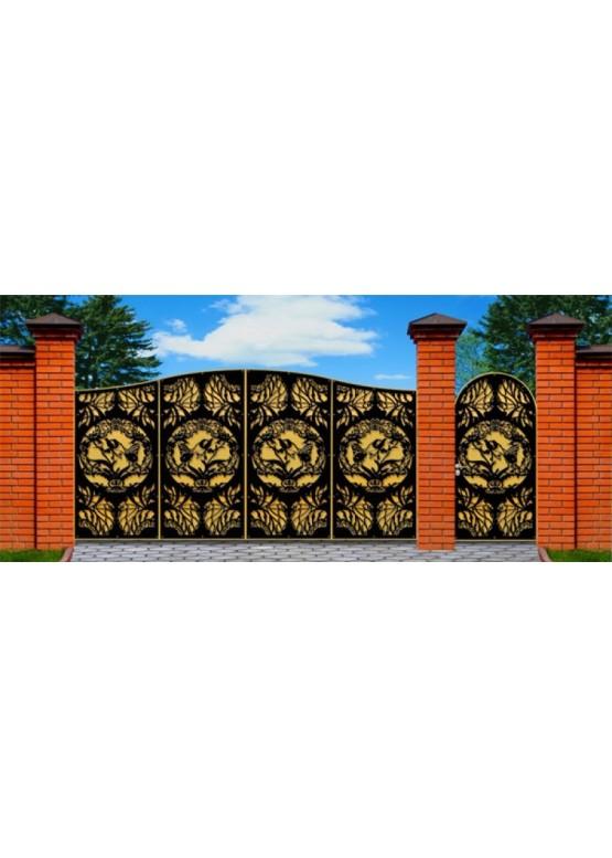 Купить Ворота , ограды , калитки и таблички - Авторские работы (Артикул 479)
