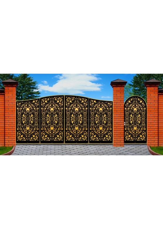 Купить Ворота , ограды , калитки и таблички - Авторские работы (Артикул 481)