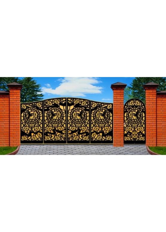 Купить Ворота , ограды , калитки и таблички - Авторские работы (Артикул 482)