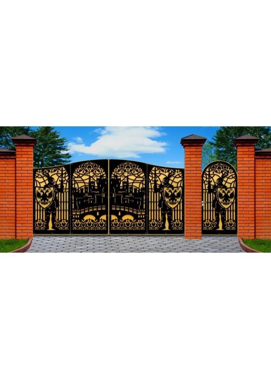 Купить Ворота , ограды , калитки и таблички - Авторские работы (Артикул 484)