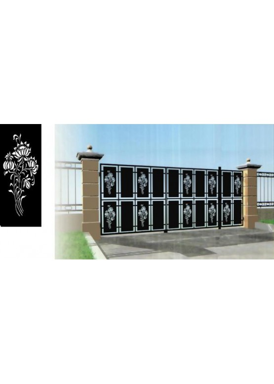 Купить Ворота , ограды , калитки и таблички - Авторские работы (Артикул 486)