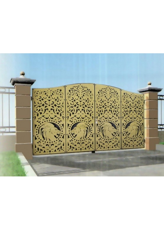 Купить Ворота , ограды , калитки и таблички - Авторские работы (Артикул 492)