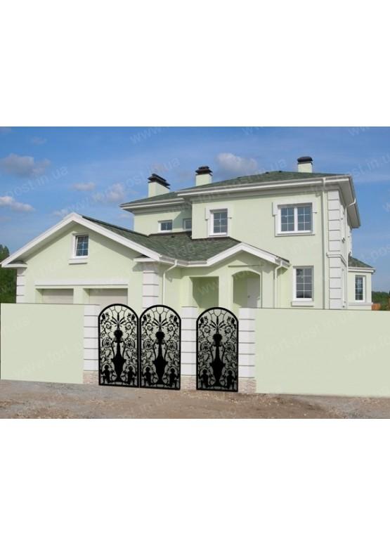 Купить Ворота , ограды , калитки и таблички - Авторские работы (Артикул 496)