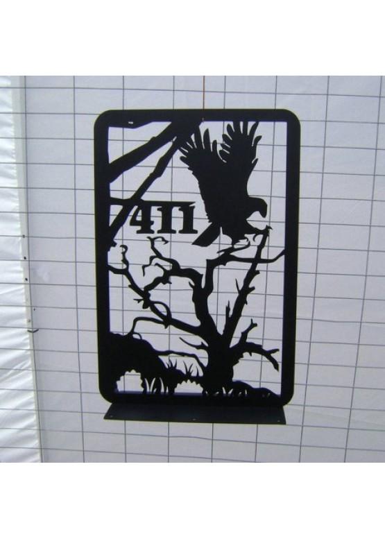 Купить Ворота , ограды , калитки и таблички - Авторские работы (Артикул 498)