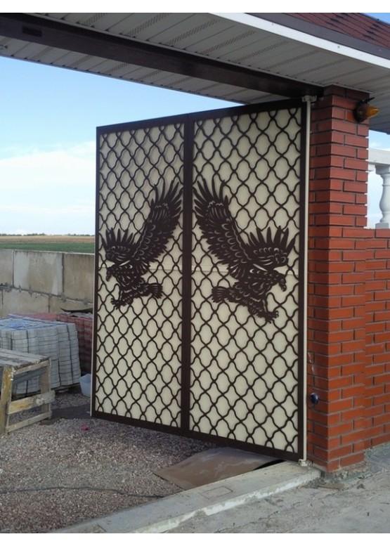 Купить Ворота , ограды , калитки и таблички - Авторские работы (Артикул 499)