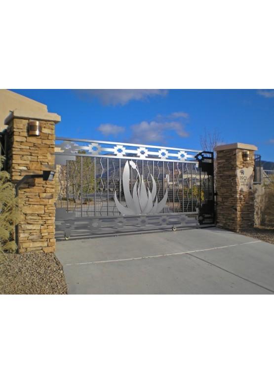 Купить Ворота , ограды , калитки и таблички - Авторские работы (Артикул 500)
