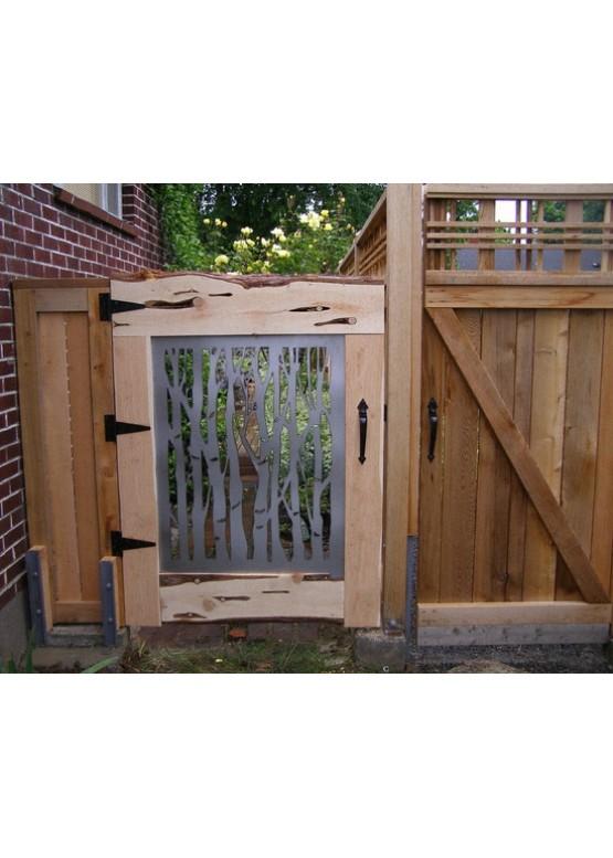 Купить Ворота , ограды , калитки и таблички - Авторские работы (Артикул 429)