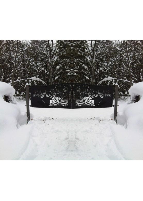 Купить Ворота , ограды , калитки и таблички - Авторские работы (Артикул 501)