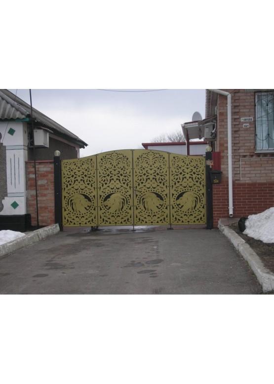 Купить Ворота , ограды , калитки и таблички - Авторские работы (Артикул 503)