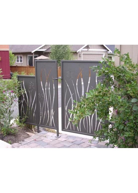 Купить Ворота , ограды , калитки и таблички - Авторские работы (Артикул 506)