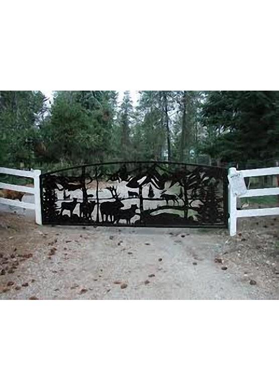 Купить Ворота , ограды , калитки и таблички - Авторские работы (Артикул 507)